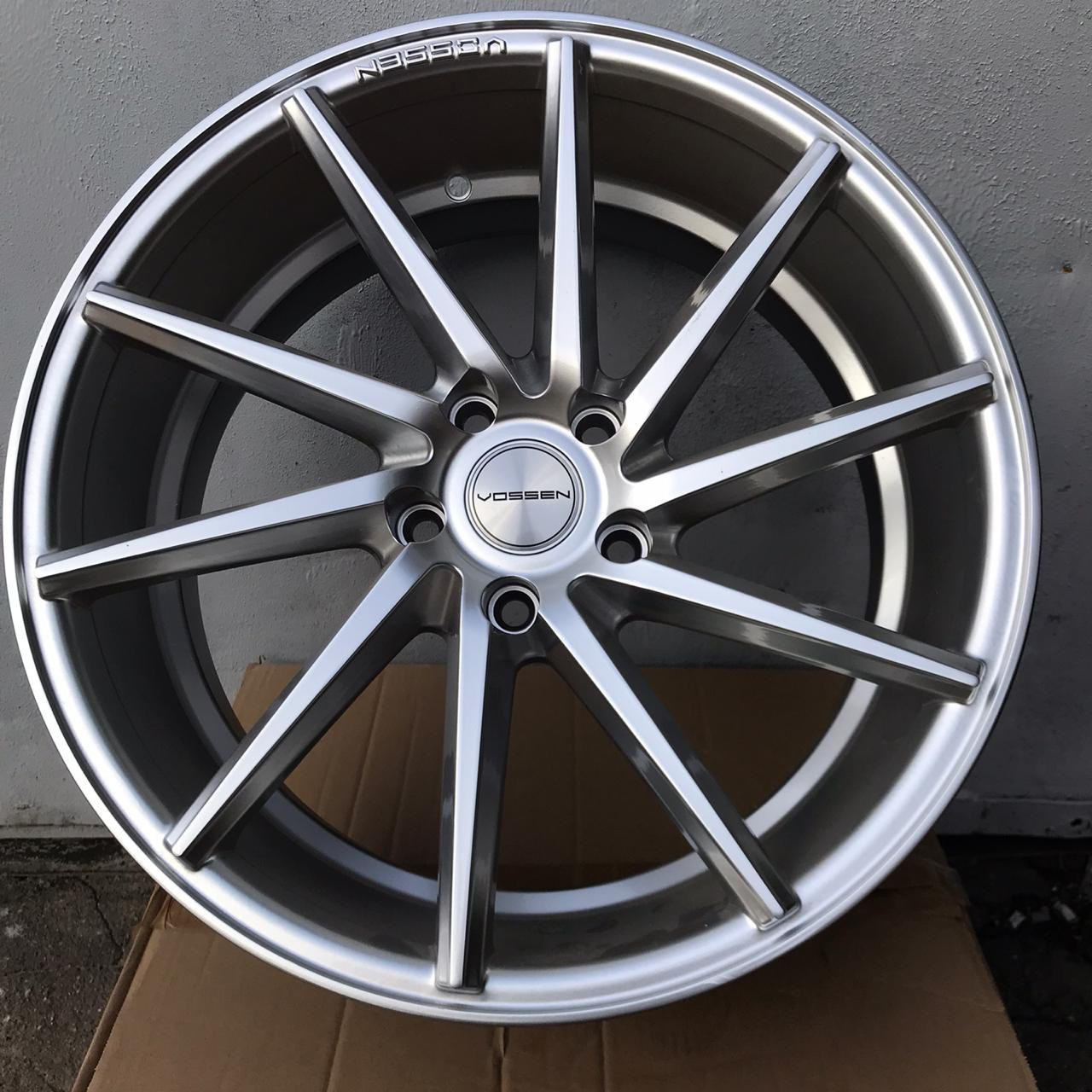 Vossen CVT (Left / Right) 7.5 17 5x114.3 (Hyper Silver)