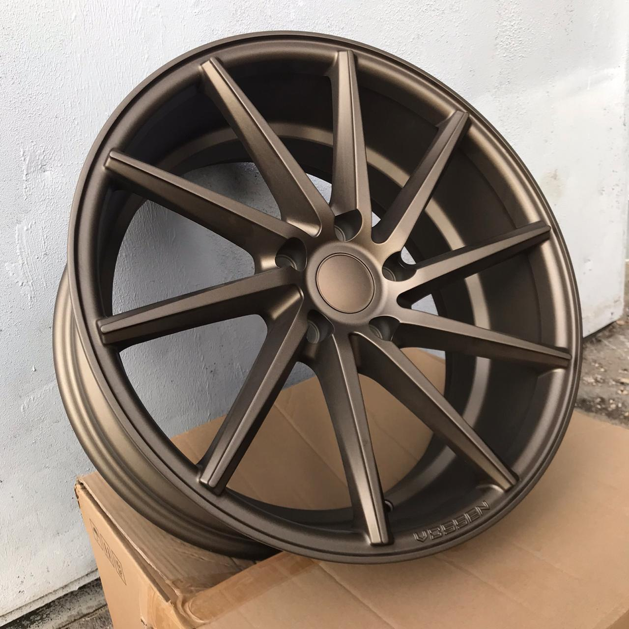 Vossen CVT (Left / Right) 8 18 5x114.3 (Matt Bronze)