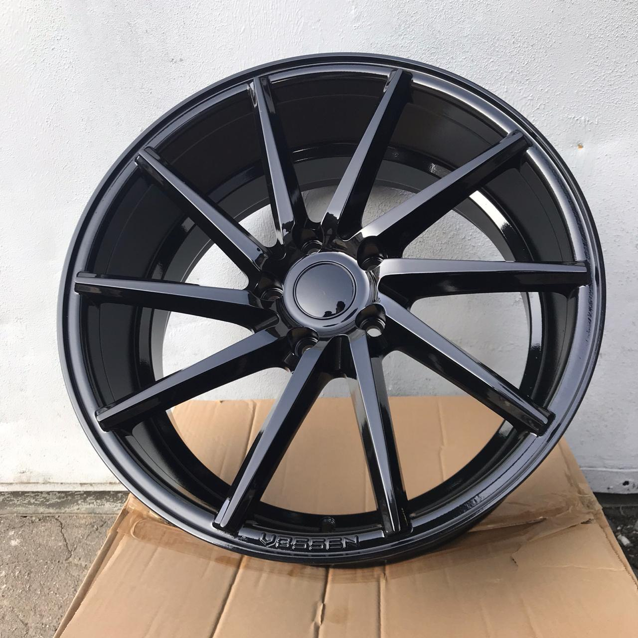 Vossen CVT (Left / Right) 8 18 5x112 (Gloss Black)